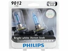 For 2016-2018 Fiat 500X Headlight Bulb High Beam and Low Beam Philips 96775JP