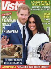 Visto 2017 49.Prince Harry d'Inghilterra & Meghan Markle,Alessio Boni,Lucia Bosé