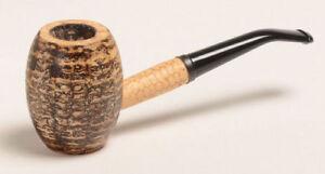 Missouri Meerschaum Country Gentleman Bent Stem Smoking Corncob Pipe - 5617