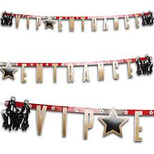 1.7m Hollywood Vip PREMIO stelle d'ingresso PARTY Lettera Banner Decorativo