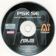 ASUS P5K SE LGA Motherboard Drivers Installation Disk M1195