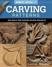 Great Book of Carving Patterns by Lora S. Irish (Paperback, 2015)