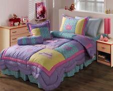 Double /  Queen size Bed Kids Comforter Set Quilt Bedspread Coverlet Set Aruna
