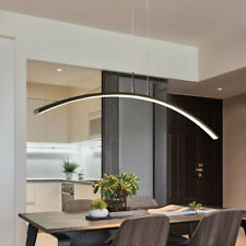 Modern Simple LED Chandelier Dining Room Ceiling Light Pendant Lamp Fixture 21W