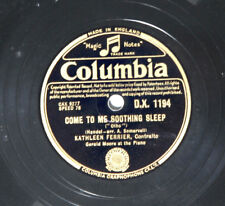 78rpm shellac record Handel Kathleen Ferrier Spring is Coming/Come to me