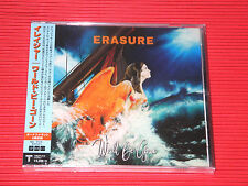2017 JAPAN CD ERASURE World Be Gone with 2 Bonus Tracks for Japan Only TOTAL 12