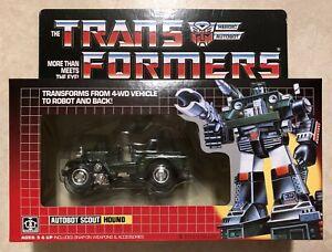 TRANSFORMERS G1 AUTOBOT HOUND MISB! US SELLER VERY RARE!
