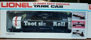 LIONEL #6-9324 Tootsie Roll Tank Car, ⭐NIB⭐ (F73)