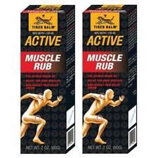 2x Tiger Balm Muscle Rub 2 Oz