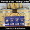World's Best Tasting Coffee from Gold Star - 4 lb Jamaica Jamaican Blue Mountain