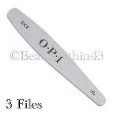 OPI Professional Edge Silver Files 150 (3 Files) GENUINE & Sealed UK SELLER 💅💅