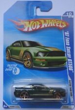 2010 Hot Wheels '07 Ford Shelby GT500 Col. #138 (Green Version)(FTE Hub Wheels)
