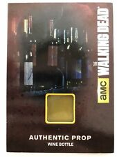 Walking Dead Season 4 Part 1 Authentic Wardrobe Card M-21 Wine Bottle