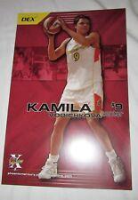 KAMILA VODICHKOVA #9 2006 Phoenix Mercury POSTER WNBA vs Sacramento Monarchs