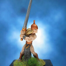Painted I-Kore Celtos Miniature Elf with Great Sword