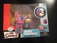 The Simpsons Ironic Punishment Deluxe Box Set Homer Episode 1F04 McFarlane Toys