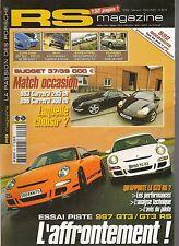 RS MAGAZINE 69 PORSCHE 997 GT3 3.6 997 GT3 RS 3.6 ESSAI CAYENNE 993 C 996 C 3.4