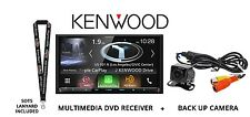 "Kenwood DNX994S DVD Navigation 6.95"" Touchscreen HD Radio Backup Camera Package"