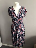 Joe Browns Stunning Multicoloured Floral Dress - Size 10 BNWT