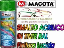 BOMBOLETTA MACOTA COLORE NERO LUCIDO RAL 9005 400 ml - 10 Pezzi