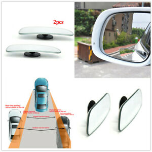 2pcs Car Truck Auto 360° Wide Angle Convex SUV Rear Side View Blind Spot Mirror