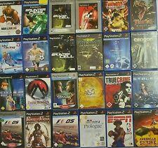 Sony Playstation 2 PS2 Spiele Sammlung Paket 24 Spiele Set 12