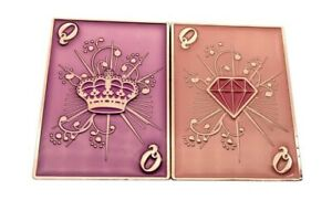Lucky Queen Double Sided Poker Card Guard NEW & EXCLUSIVE to THE POKER STORE