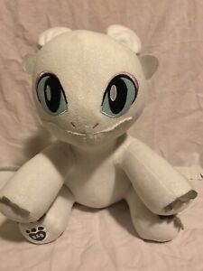 BUILD-A-BEAR How To Train Your Dragon Light Fury Plush - with Wings - With Sound