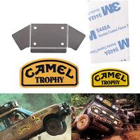 Metal Badge LOGO Sticker Camel Trophy for 1/10 Land Rover Defender TRX4 D90 D110