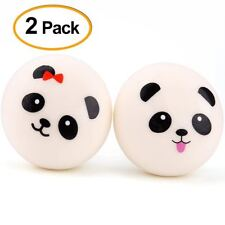 4 cm Jumbo Slow Rising Panda Squishy - 2 Pieces On Sale