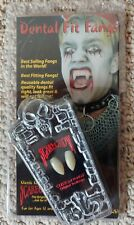 DENTAL FIT FANGS BY SCARECROW NEW CUSTOM ORIGINAL TOOTHCAPS