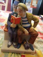 "1982 Norman Rockwell Danbury Mint The Interloper Figurine Porcelain 6"""