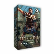New Hannibal & Hamilcar: Sun of Macedon Expansion FACTORY SEALED
