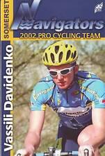CYCLISME carte cycliste VASSILI DAVIDENKO équipe  NAVIGATORS - Somerset 2002