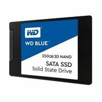 """WD Blue 3D NAND 250GB PC SSD - SATA III 6 Gb/s 2.5""""/7mm WDS250G2B0A"""