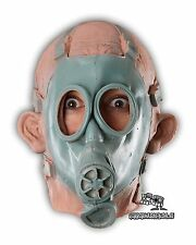 Gasmann   Die Halloween Fasching Karneval Horror Latex Maske   Gasmaske Kostüm