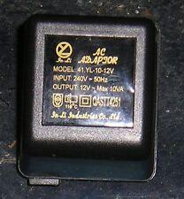 Plug-in power adaptors in various voltages, Used.