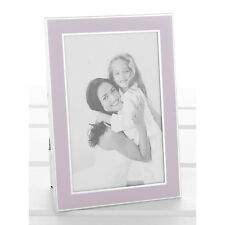 Silver & Pink Photo Frame Picture Size 4x6 inches NEW  18061