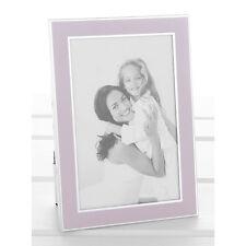 Plata y Rosa Marco de foto de tamaño de la imagen 4x6 pulgadas nuevo 18061