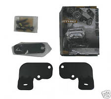 Jeep Wrangler JK 07 & Newer Windshield Light Mounts