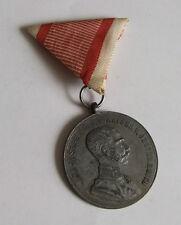 Austria Franz Joseph Silver Bravery Medal 1st class - zinc - wartime period