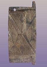 "Old African Igbo Door from Nigeria 40"" high x 17"" wide x 1"" deep"