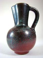 Richard UHLEMEYER Hannover Keramik Vase 40er 50er Art Pottery Reduktionsglasur