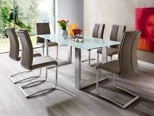 """4 Designer Freischwinger """"Manus"""" Schwingstuhl  Stuhl Esszimmerstühle 1A Qualität"""