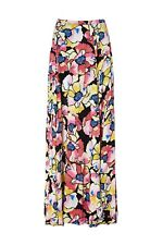 NEW Free People Hot Tropics Printed Maxi Skirt Black Combo Size 2 or 4 MSRP $128