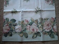 Dan River KING SHEET SET, FLAT SHEET 2 PILLOWCASES FITTED SHEET COUNTRY ROSES