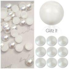 2ca639471 Genuine Swarovski Nacre White Pearl HOTFIX Flatback Crystals SS10 SS16 SS34