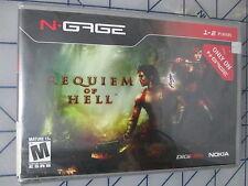 Requiem of Hell (N-Gage, 2004) Diablo clone NEW Sealed free ship USA
