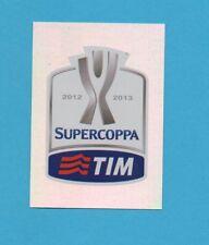 PANINI CALCIATORI 2012-2013-Figurina n.7- LOGO UFFICIALE SUPERCOPPA ITALIA -NEW