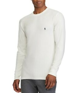 New - Polo Ralph Lauren Mens Waffle Knit Thermal Long Sleeve Shirts - S - XXL